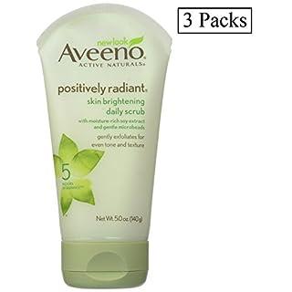 Aveeno Aveeno Active Naturals Skin Brightening Daily Scrub, 5 oz (Pack of 3) by Aveeno