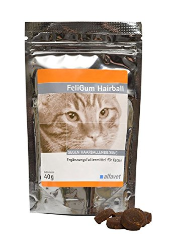 Alfavet FeliGum Hairball, 1er Pack (1 x 40 g)