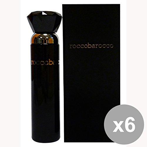 Set di 6 ROCCOBAROCCO Black edp donna 30 ml. - Profumo femminile