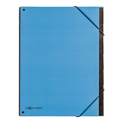 Pagna 24079-13 Pultordner Trend, 7-teilig, hellblau