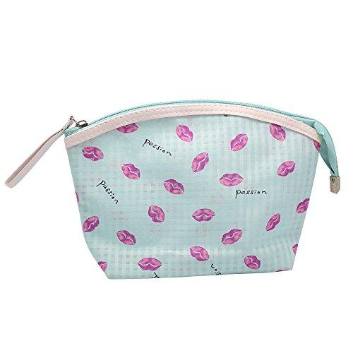 Handtasche Bleistift Make Handtasche Fall Tasche Waschen Tasche Kosmetik hysagtek Wasserdicht up Organizer lichtgrün ABWRApqP