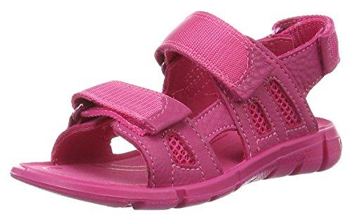 Ecco Mädchen Intrinsic Sandal Offene Keilabsatz, Pink (50229beetroot/Beetroot), 32 EU