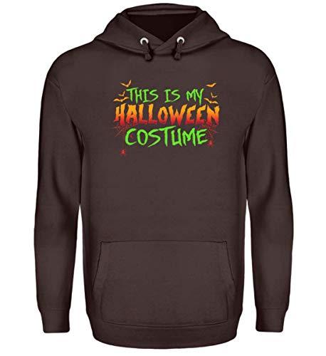SwayShirt Das Ist Mein Halloween Kostüm Costume Lustiges Boo Gruseliges Spinnen Fledermaus T-Shirt - Unisex Kapuzenpullover ()