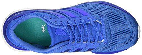 adidas Adizero Boston 6, Scarpe da Corsa Donna Blu (Ray Blue/Ray Blue/Bold Blue)