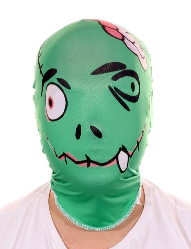 Frankenstein Horror Lycra Prämie Maske von Stretchy Suits (Frankenstein Masken)