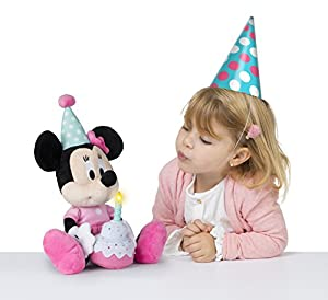 Minnie Mouse 184572 - Peluche de Minnie, Color Rosa