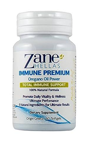 Premium Immune von Zane Hellas. 60Kapseln. Für einen gesunden Immunsystem