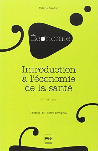 Introduction à l'économie de la santé