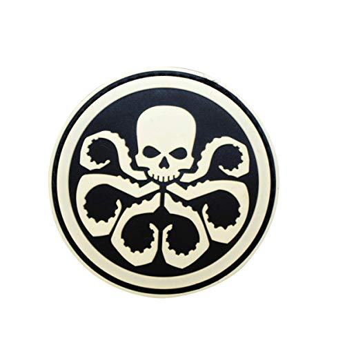 Cobra Tactical Solutions PVC Patch Marvel Avengers Hydra mit Klettverschluss für Cosplay/Airsoft/Paintball für Taktischen Rucksack Kleidung ()