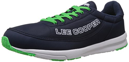 Lee Cooper Men's Navy Blue Mesh Running Shoes - 6 UK  available at amazon for Rs.1379
