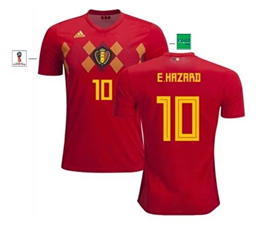 Belgien Trikot Herren WM 2018 Home - Hazard 10 (XL)