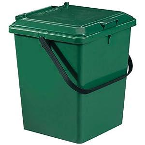 compostaje: Graf - Cubo para compostaje (8 L), color verde