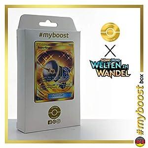 Superfänger (Gran Capturador) 264/236 Entrenadore Secreta - #myboost X Sonne & Mond 12 Welten im Wandel - Box de 10 cartas Pokémon Alemán