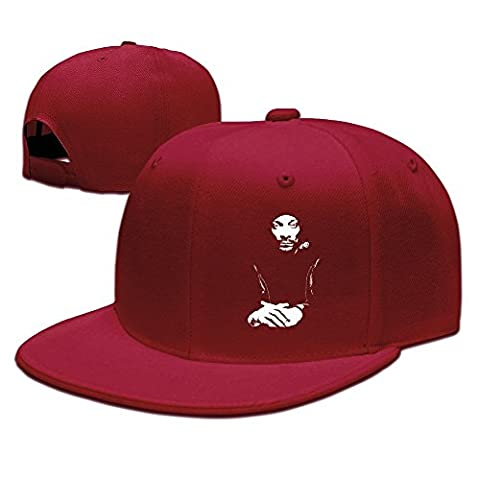 YhsukRuny Custom Snoop Dogg Adjustable Baseball Hat/Cap Red