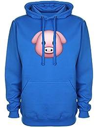 Pig Emoji Sweat à capuche