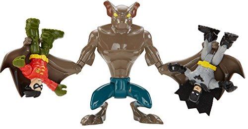 Image of Fisher Price Imaginext Toy - DC Super Friends - Man Bat Action Figure - Batman Villain