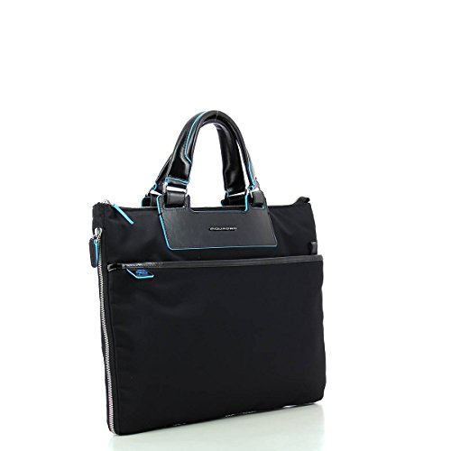 Piquadro Ca4021ce Handtasche, Erwachsene Unisex Red NERO