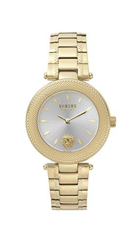 Versus by Versace Femme Analogique Quartz Montre avec Bracelet en Acier Inoxydable VSP712118