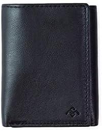 Saddlemage Kiger - Men's Tri-fold Wallet, Black