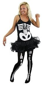I Love Fancy Dress ilfd4546s tutú Disfraces de Esqueleto (pequeño)
