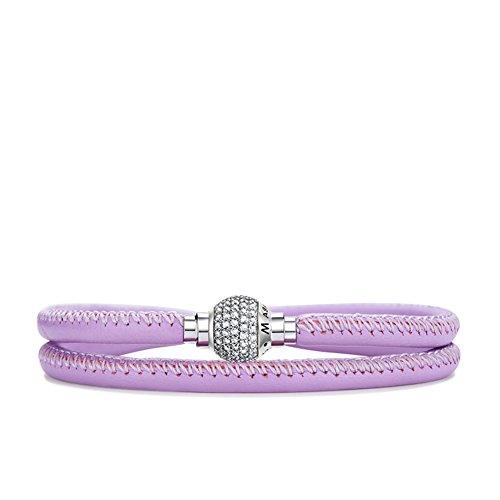 Creative cordon bracelets de cuir/ fashion bracelet/925 bracelet argent bracelets/ cadeaux d'anniversaire G