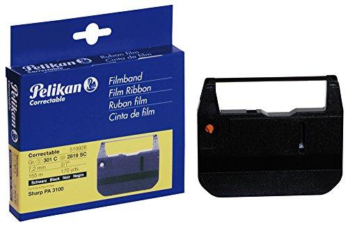 Pelikan 519926 - Farbband Gruppe 301C, für Sharp PA3100, Größe: 7.2 mm / 155 m, schwarz (Farbband Sharp)