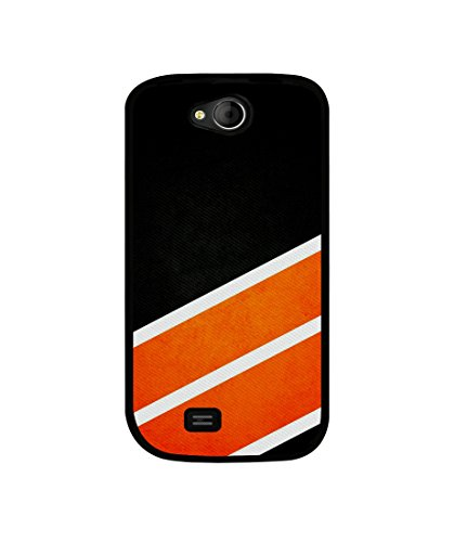 Casotec Abstract Pattern Design Canvas Printed Soft TPU Back Case Cover for Micromax Canvas Elanza A93  available at amazon for Rs.349