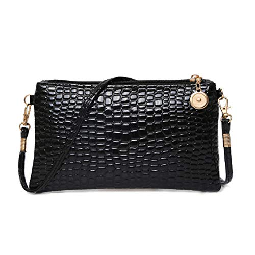 HengXingDE einfache Temperament koreanische Version der Clutch Bag Crocodile Muster Schulter Messenger Bag Handtasche -