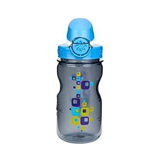 Nalgene Kinder Trinkflasche OTF 0.35L, Grau, 0.35 Liter