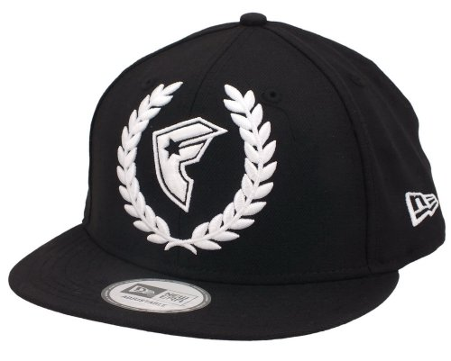 Famous Stars and Straps - - Hommes Couronne BOH Snapback Hat en Noir / Blanc, O/S, Black/White