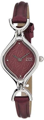 Titan Raga Brown Dial Women's Analog Watch -NK2531SL01