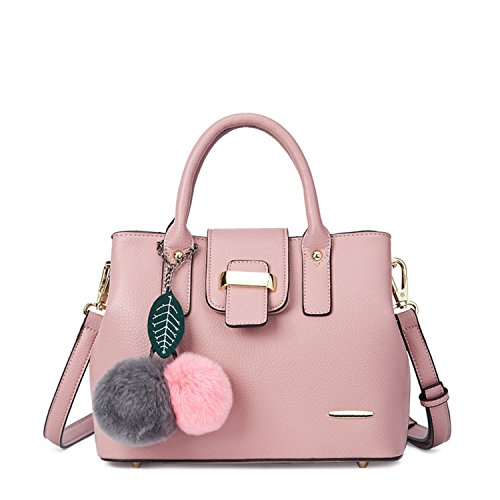 Miyoopark, Borsa a secchiello donna Pink