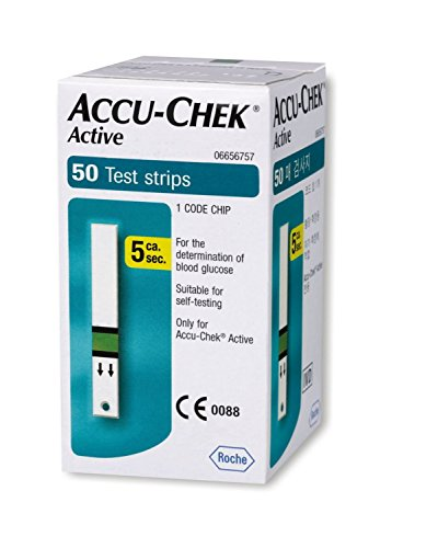 Accu Chek Pro - Accu-Chek actifs - 50 - Count (Multicolor)