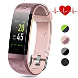 Best fitbit Fitness Trackers - Color Screen Fitness Tracker, Lintelek Activity tracker, IP68 Review