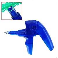 mike-dental azul color dispensador de pistola de ligadura de ortodoncia dental utiliza para ligadura Lazos