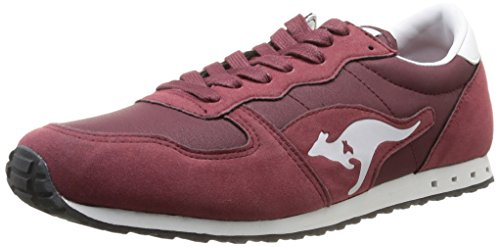 Kangaroos Blaze IV, Baskets mode homme Rouge (Dk Wine/Burgundy 662)
