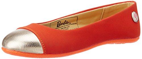 Barbie Girl's Orange Espadrille Flats - 11C UK