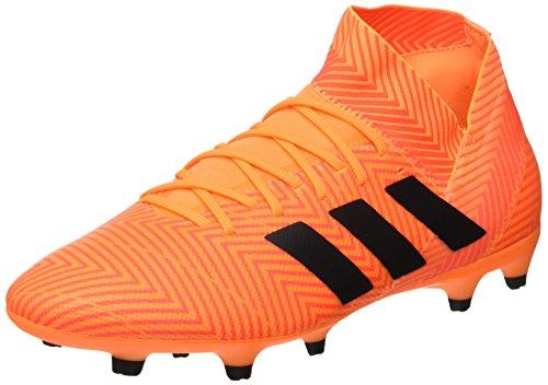 adidas Herren Nemeziz 18.3 FG Fußballschuhe, Schwarz (Zest/Core Black/Solar Red), 42 EU