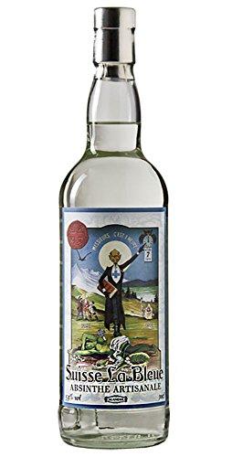 Original Absinth / Absinthe La Bleue aus der Schweiz - Das Original mit dem Prohibitionsmönch