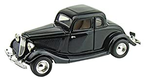 Motor MAX mm73217bk-1934Ford Coupe Hard Top, vehículos, Negro