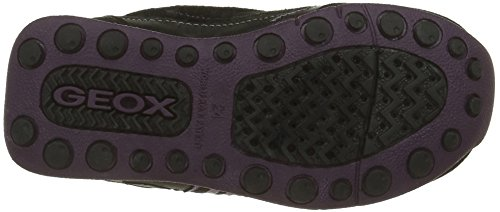Geox New Jocker C, Baskets Basses Fille Schwarz (BLACKC9999)