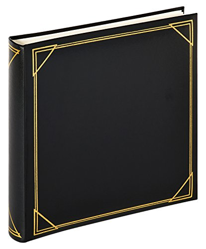walther design MX-200-B Classicalbum Standard, Fotoalbum, schwarz, 30 x 30 cm