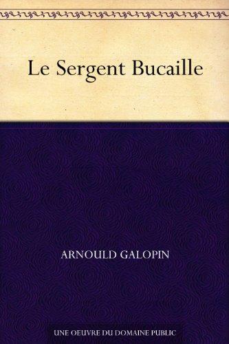 Couverture du livre Le Sergent Bucaille