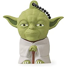 Tribe Disney Star Wars Yoda Chiavetta USB da 16 GB Pendrive Memoria USB Flash Drive 2.0 Memory Stick, Idee Regalo Originali, Figurine 3D, Archiviazione Dati USB Gadget in PVC con Portachiavi - Verde