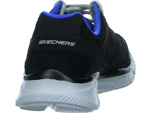 Skechers - Equalizer- Timepiece, Scarpe sportive Donna Nero (BLK)