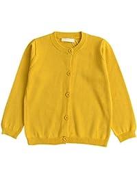 c3e1ad909 Amazon.co.uk  Yellow - Cardigans   Knitwear  Clothing