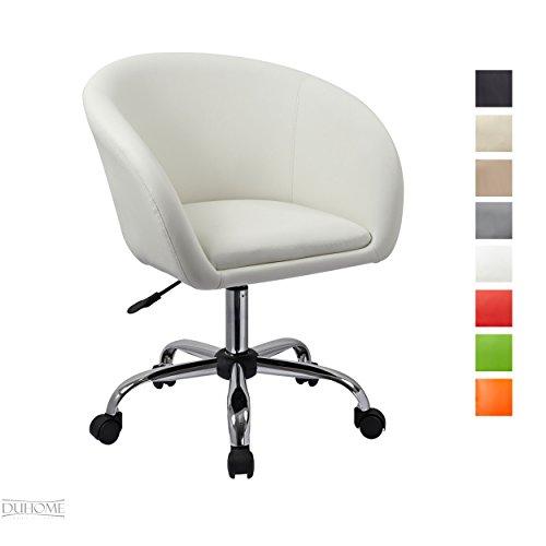 drehstuhl wei kunstleder bestseller shop f r m bel und. Black Bedroom Furniture Sets. Home Design Ideas