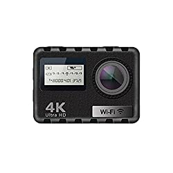 AT-N490 4K 24FPS 7G 170 Degree Wide Angle Ultra HD WiFi 2 Inch LCD Waterproof FPV Action Camera