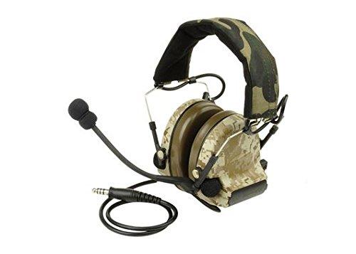 AIRSOFT Ztactical ZSordin Headset MIC BOOM RADIO PELTOR COMTAC 2 AOR1
