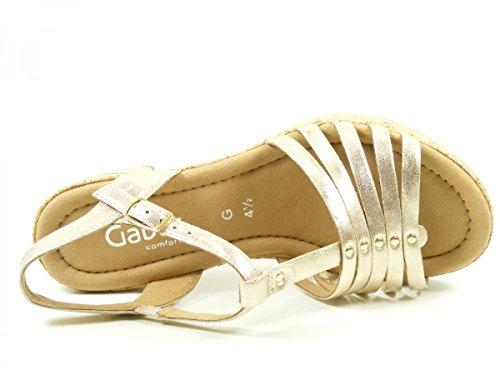Gabor 62-733 Sandali donna Gold